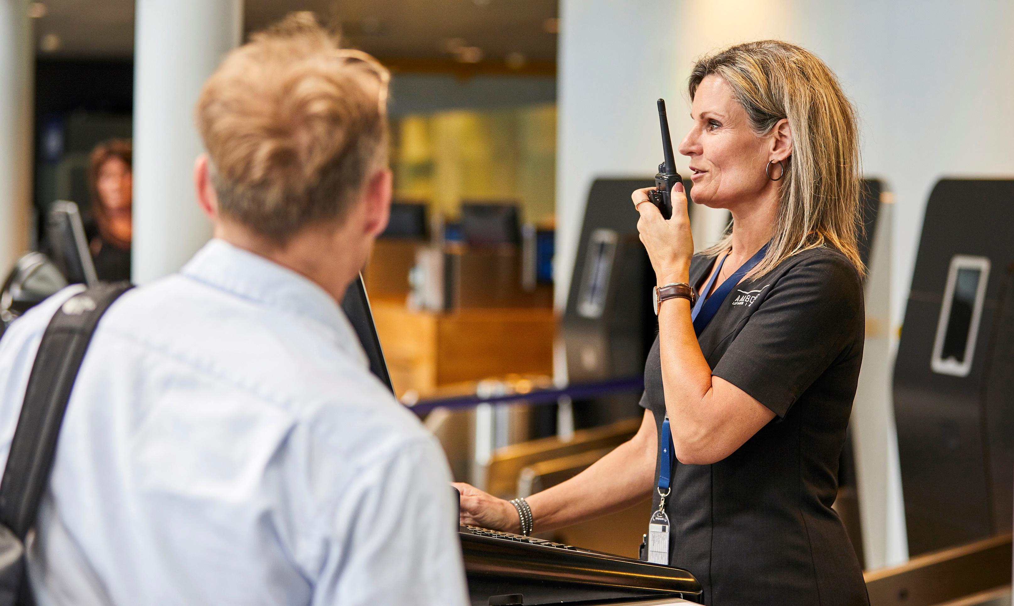 Fra den 27. oktober 2019 bliver der flere udkald til Oslo fra Aalborg Lufthavn. (Foto: Aalborg Lufthavn)