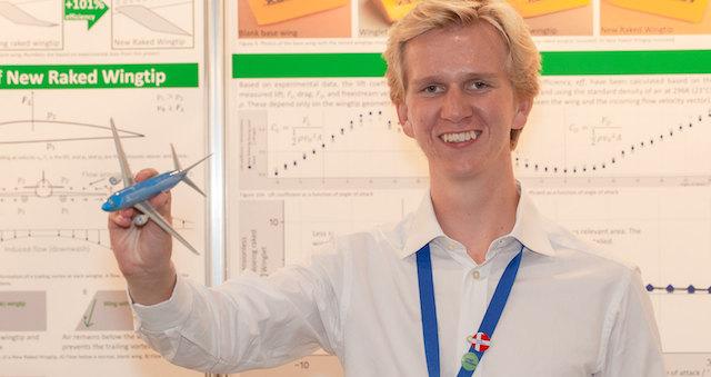 Den 19-årige forskerspire Magnus Quaade Oddershede.