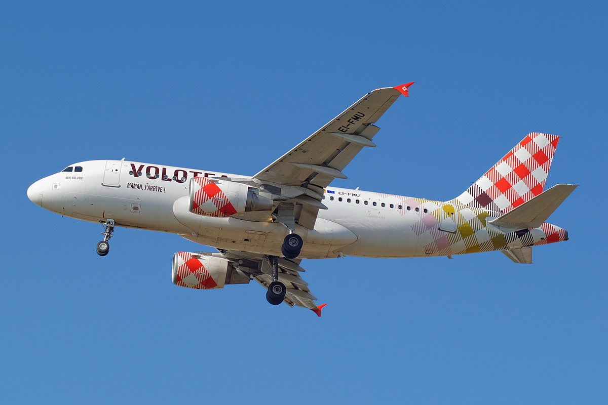 Airbus A319-100 fra Volotea. (Foto:Dylan Agbagni | CC 1.0)