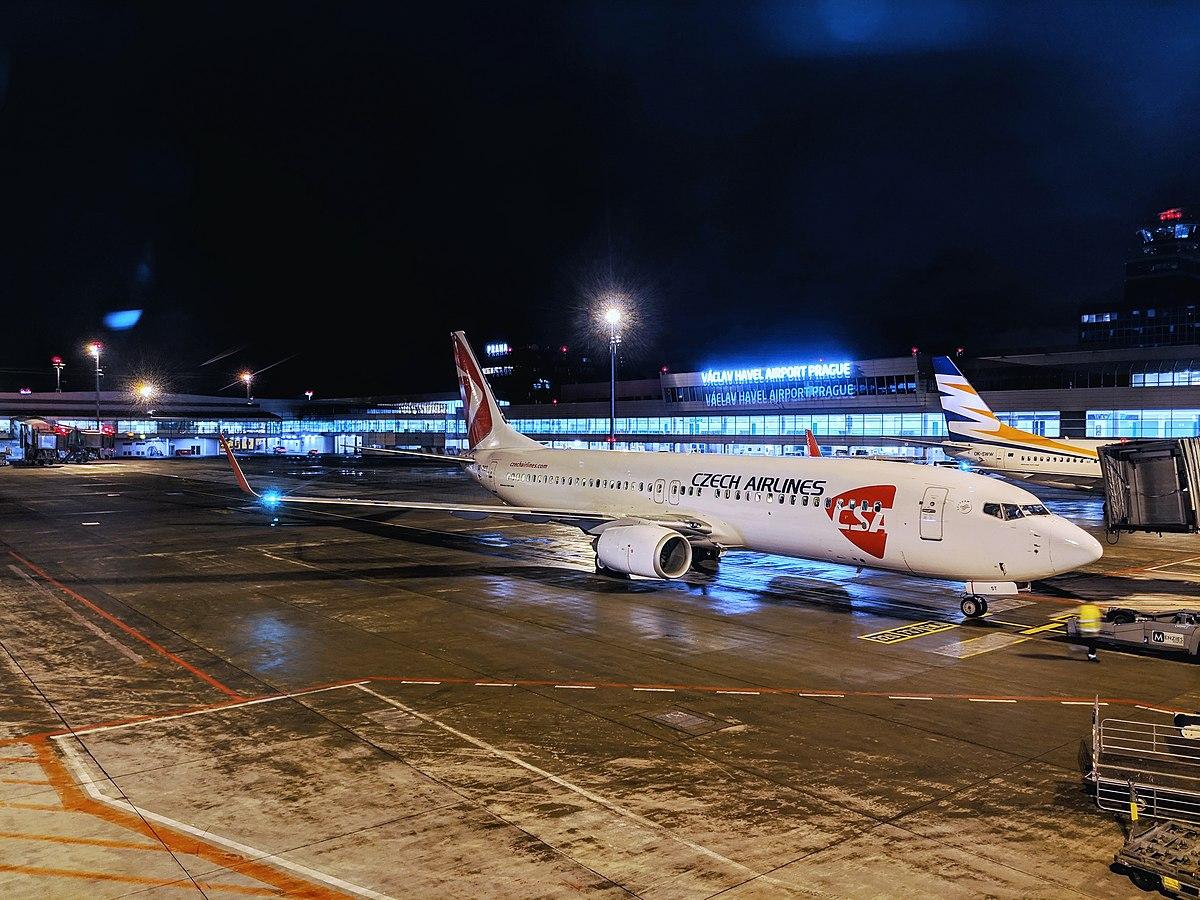 Boeing 737-800 fra CSA Czech Airlines. (Foto: Gforce800 | CC 4.0)