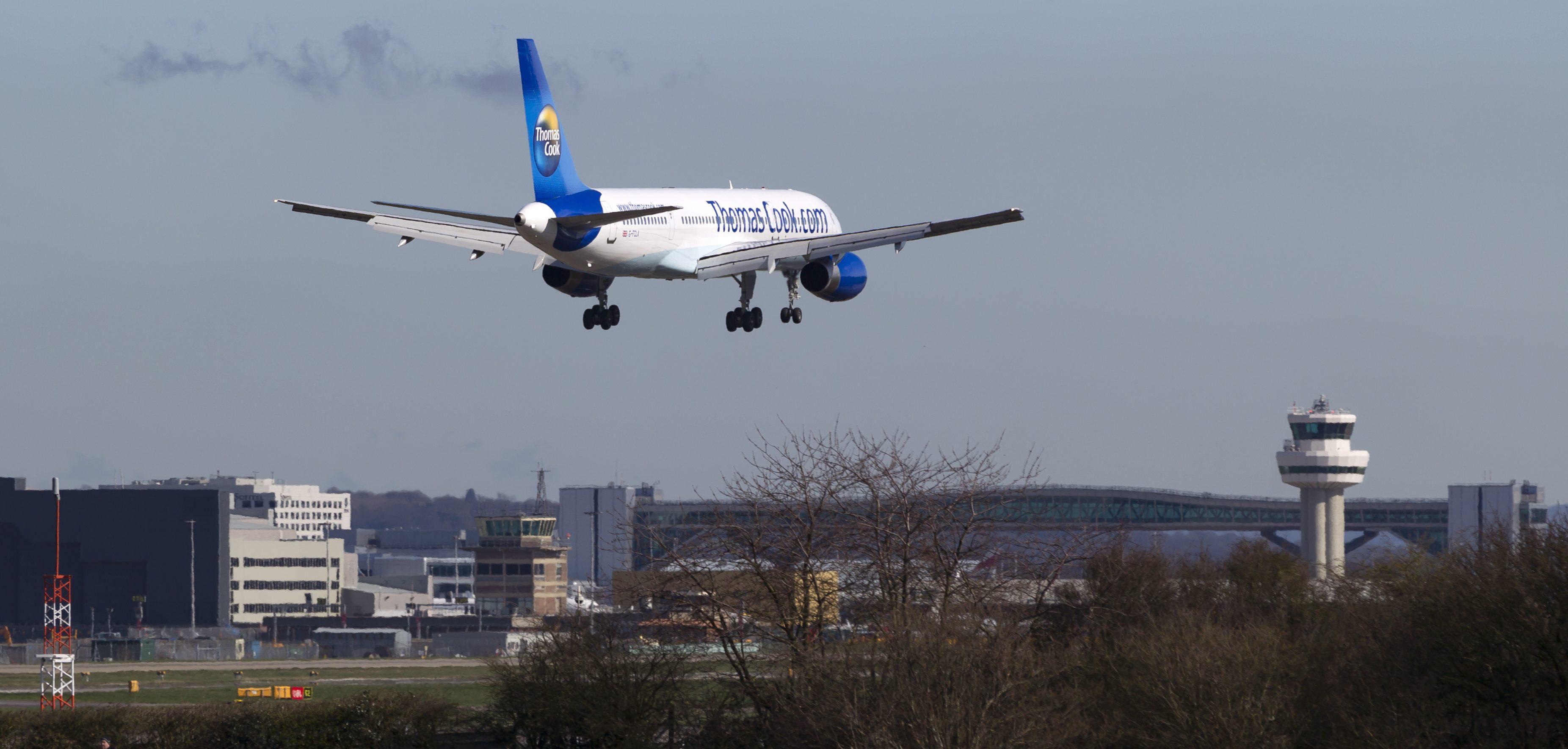 Flere flyselskaber er interesseret i slottiderne fra det konkursramte britiske flyselskab Thomas Cook Airlines. Foto: © Thorbjørn Brunander Sund, Danish Aviation Photo