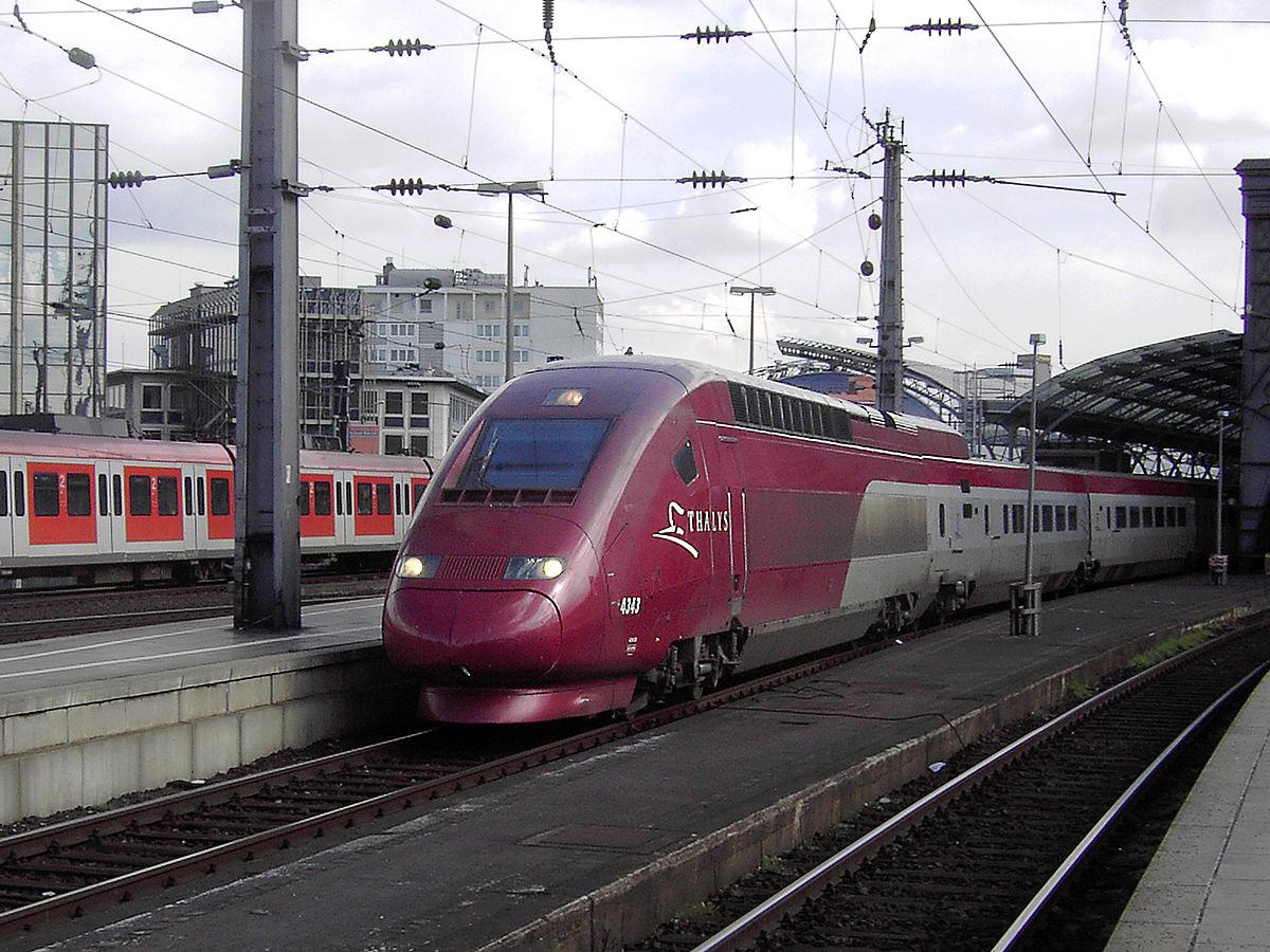 Thalys-højhastighedstog, der kører mellem Amsterdam og Bruxelles. (Foto: Qualle |  CC 2.5)