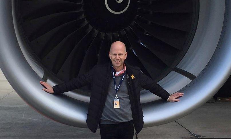 Thomas Lunding, Fleet Chief Pilot A330/A340/A350 hos SAS. (Privatfoto)