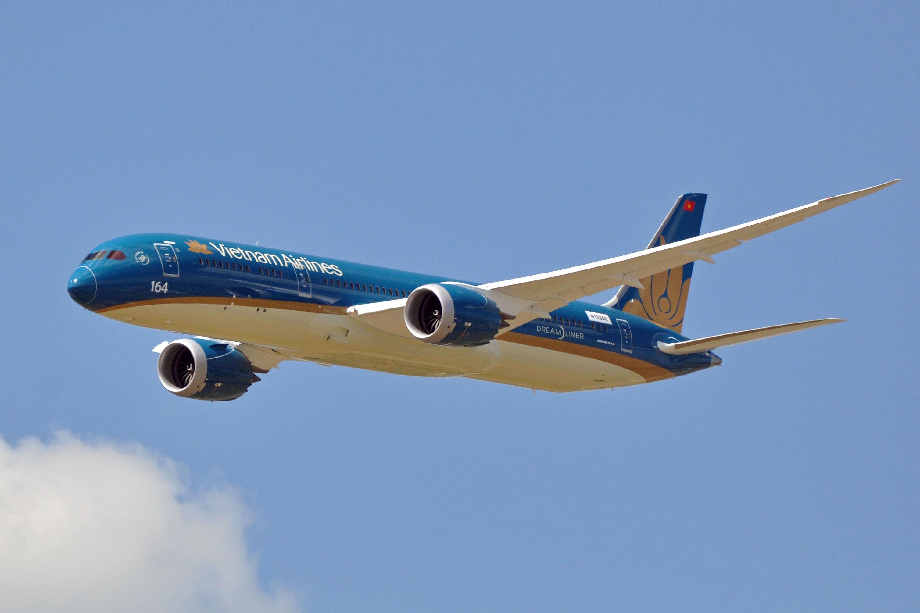 En Boeing 787-9 Dreamliner fra Vietnam Airlines. Foto: Eric Salard, CC 2.0