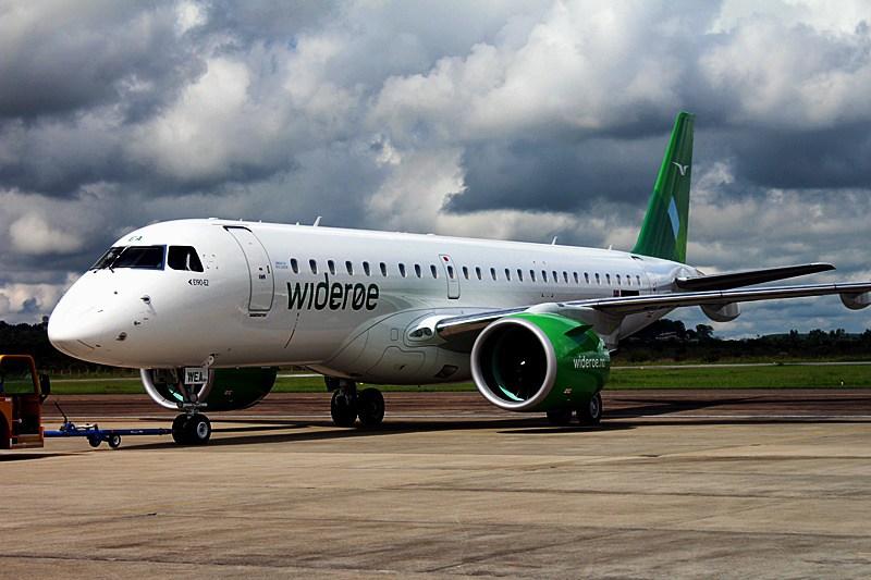 Embraer E190-E2 fra Widerøe. (Foto: Aviação Brasil | CC 4.0)