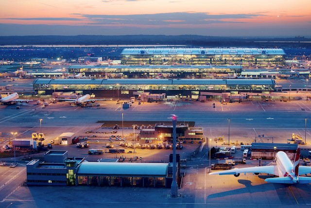 London Heathrow-lufthavnen.