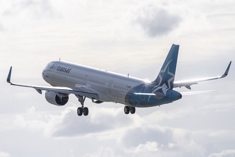 Air Transat Airbus A321neoLR  (Foto: Airbus | PR)