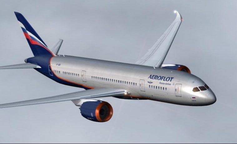 Det russiske flyselskab Aeroflot har afbestilt 22 Boeing 787 Dreamliner-fly. Foto: Aeroflot