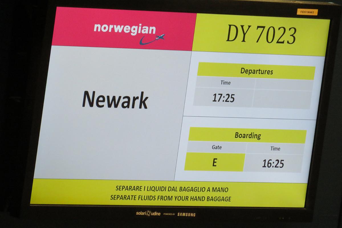 Norwegian opgiver ruterne til Newark. (Foto: Airwaysmag.com)