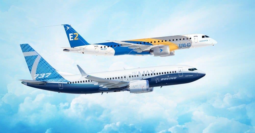 Boeing og Embraer forventer at have deres nye joint venture klar i begyndelsen af 2020. Foto: Boeing-Embraer via Twitter