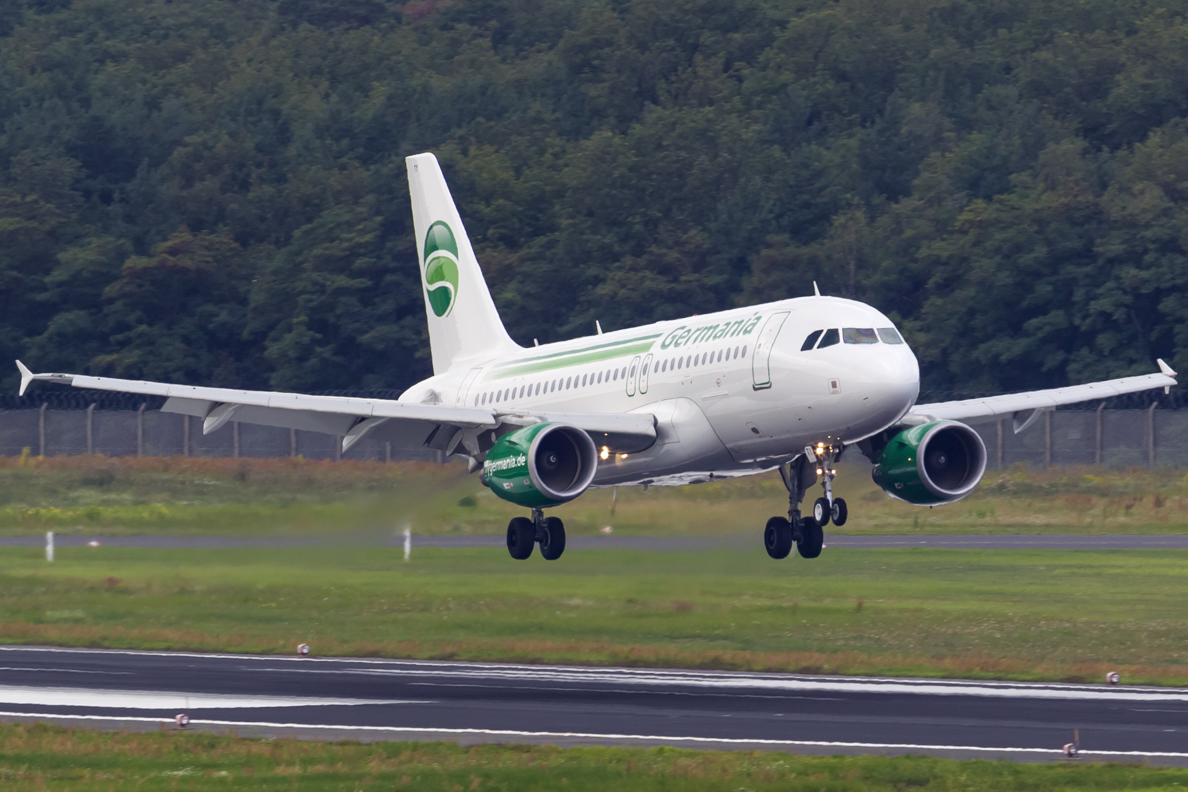 Airbus A319-100 fra Germania (Foto: © Thorbjørn Brunander Sund | Danish Aviation Photo)