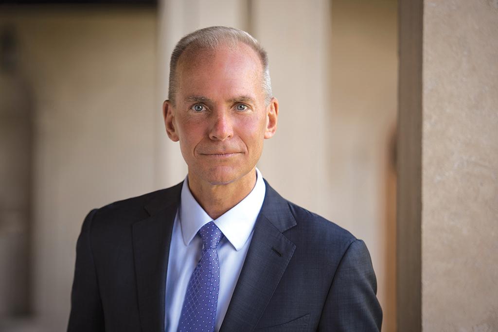 Dennis A. Muilenburg, koncernchef, The Boeing Company fra 2015 til 2019 (Foto: Boeing | PR)