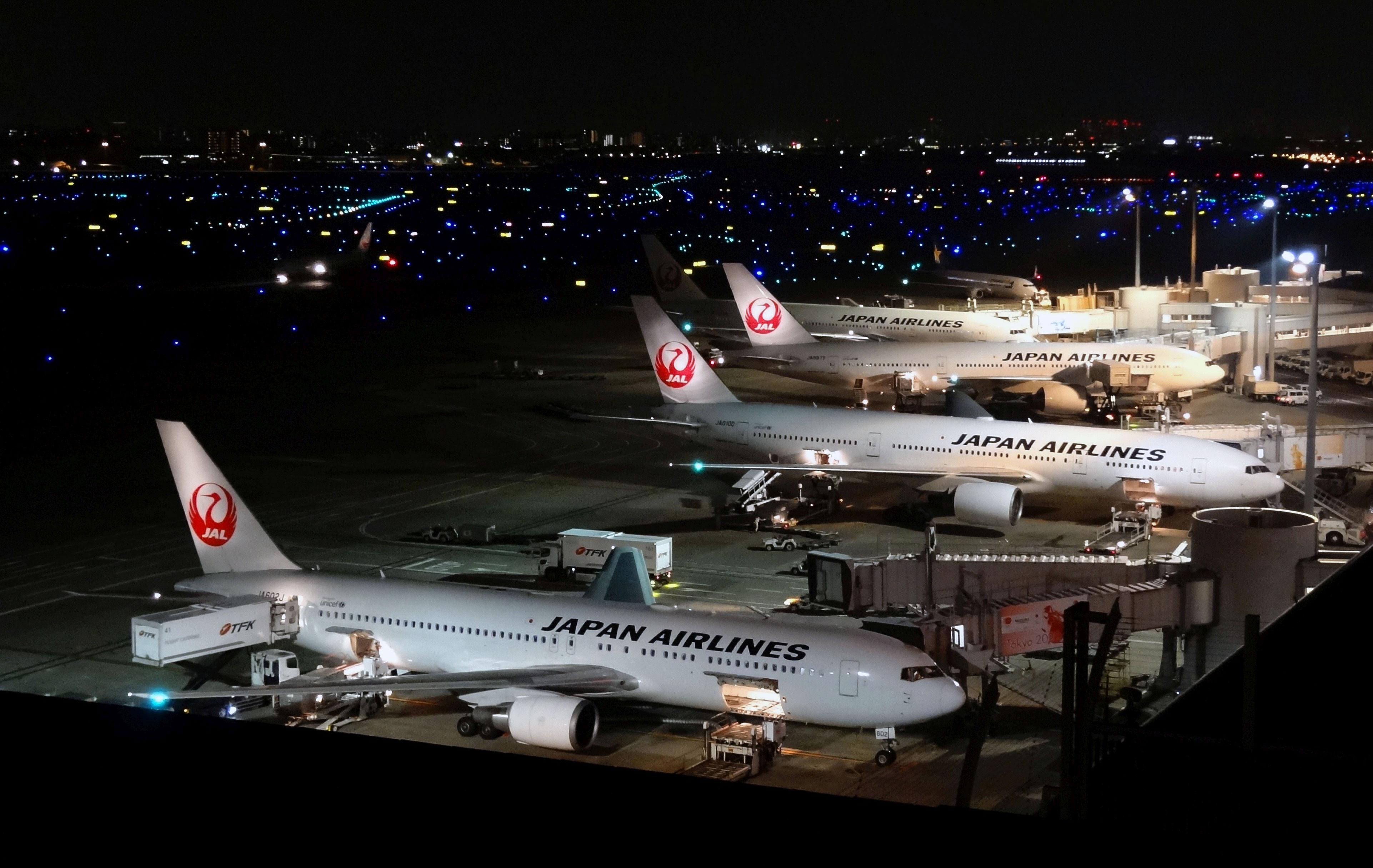 Trafikken i blandt andet Tokyo-Haneda-lufthavnen bliver påvirket af supertyfonen Hagibis. Foto: Banbam1029, CC 4.0