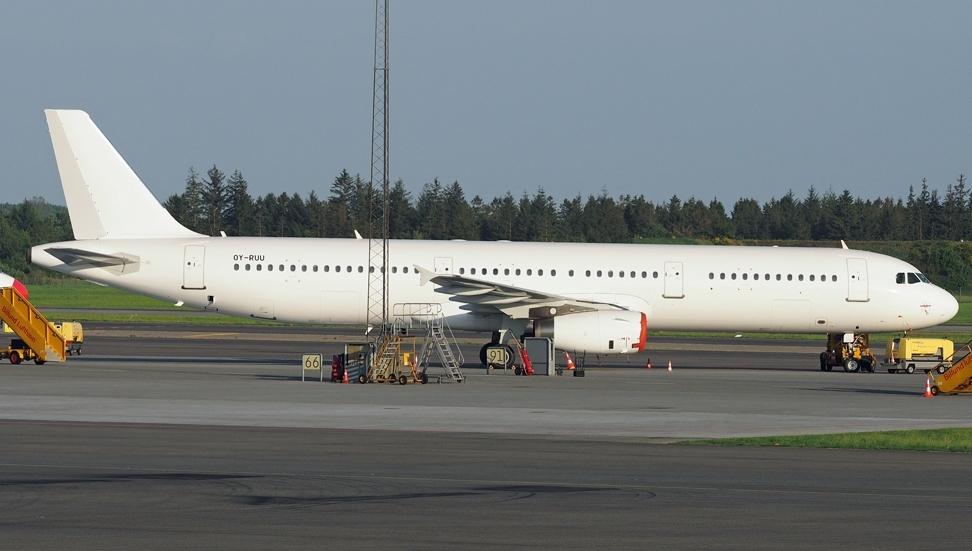 Airbus A321-200 fra DAT. (Foto: Erik Gjørup Kristensen | SAI Collection)