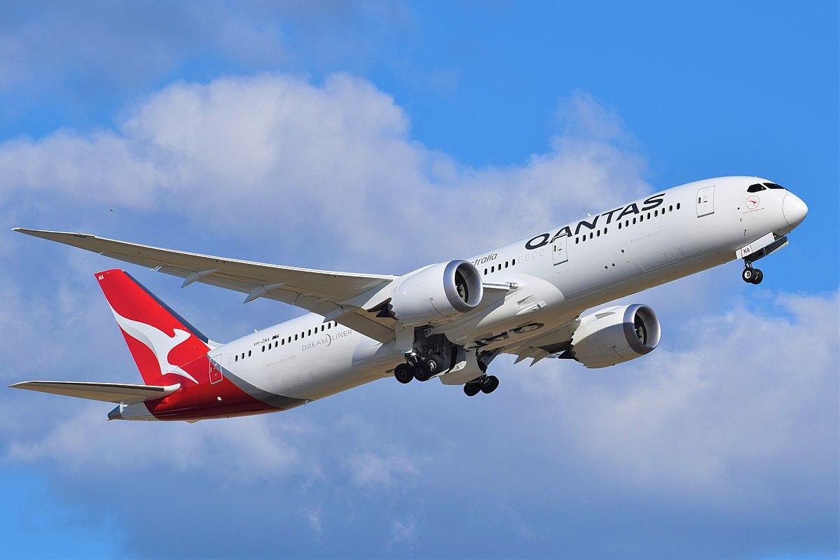 Boeing 787-9 Dreamliner fra Qantas (Foto: Mertie .| CC 2.0)