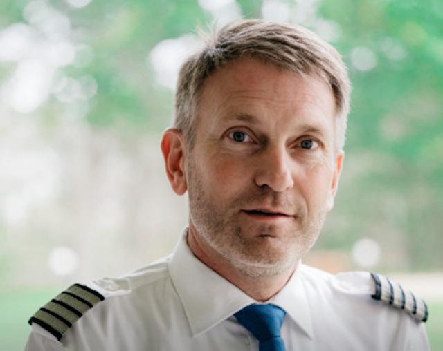 Henrik Thyregod er ny formand for Dansk Pilotforening. (Foto: Dansk Pilotforening)