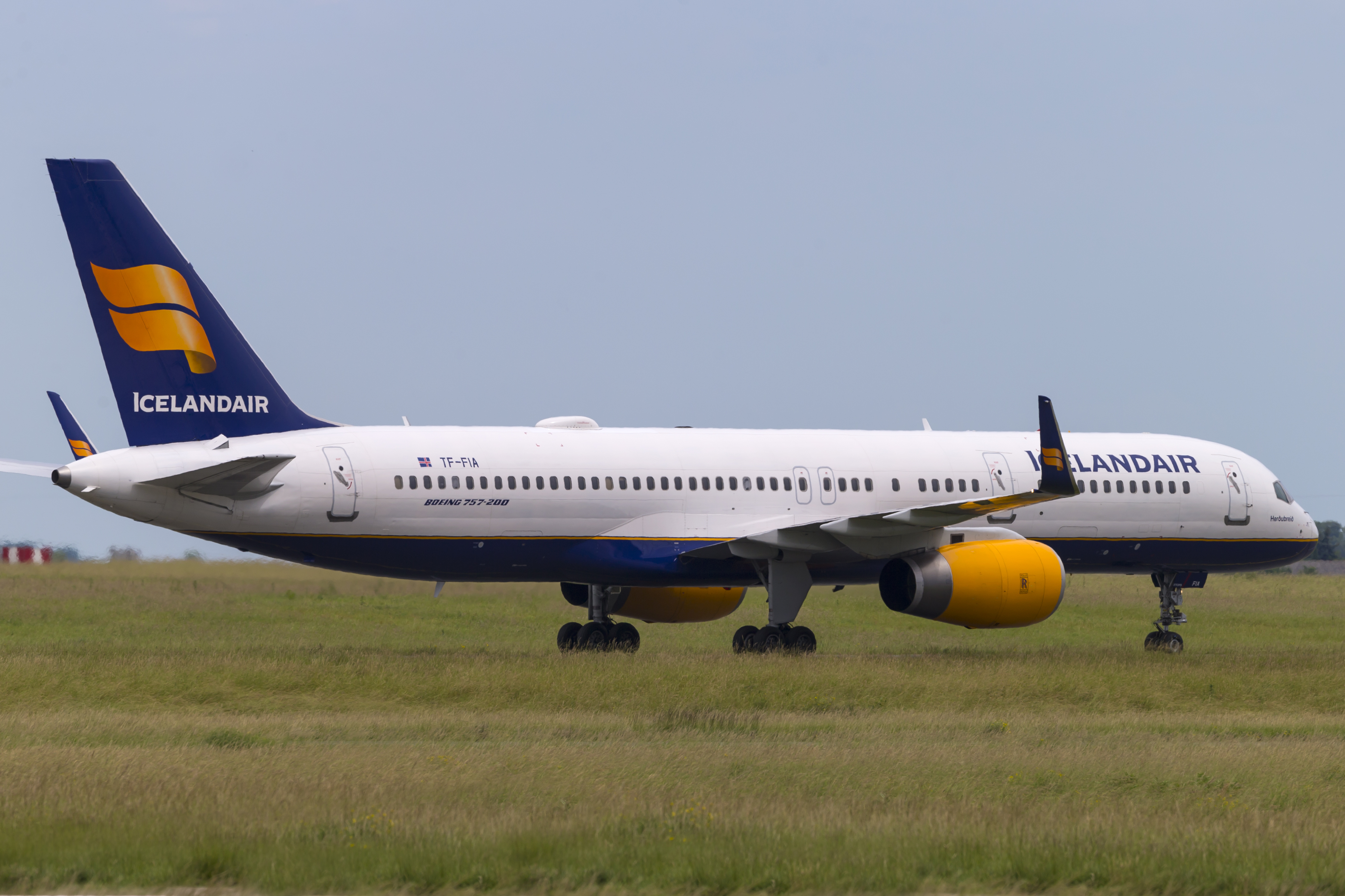 En Boeing 757-200 fra Icelandair. Foto: © Thorbjørn Brunander Sund, Danish Aviation Photo
