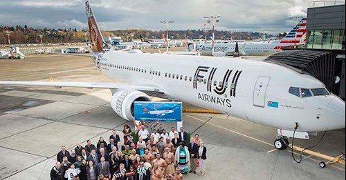 Fiji Airways modtog første Boeing 737 MAX 8 i november sidste år. Foto: Fiji Airways