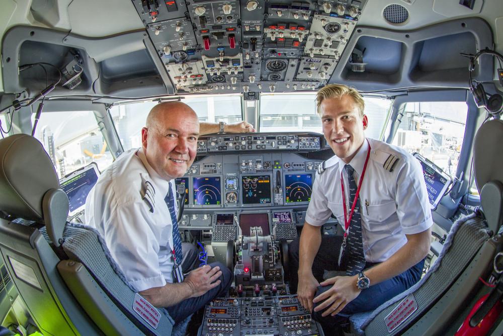 Norwegians piloter kan mindske flyenes brændstofforbrug ved hjælp af en ny app. Foto: Norwegian