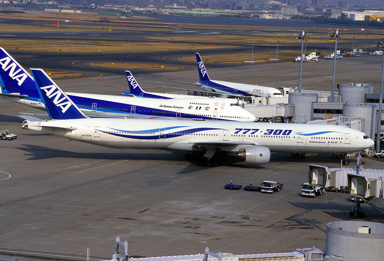 Fly fra All Nippon Airways i Haneda Airport. (Foto:  Yonezawa-Shi Yamagata | CC 2.0)