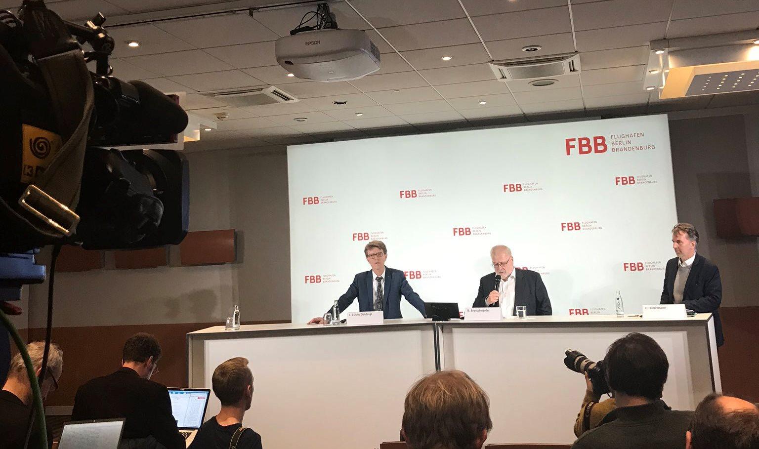 Åbningsdatoen for BER er blevet annonceret på et pressemøde. (Foto: BER | PR)