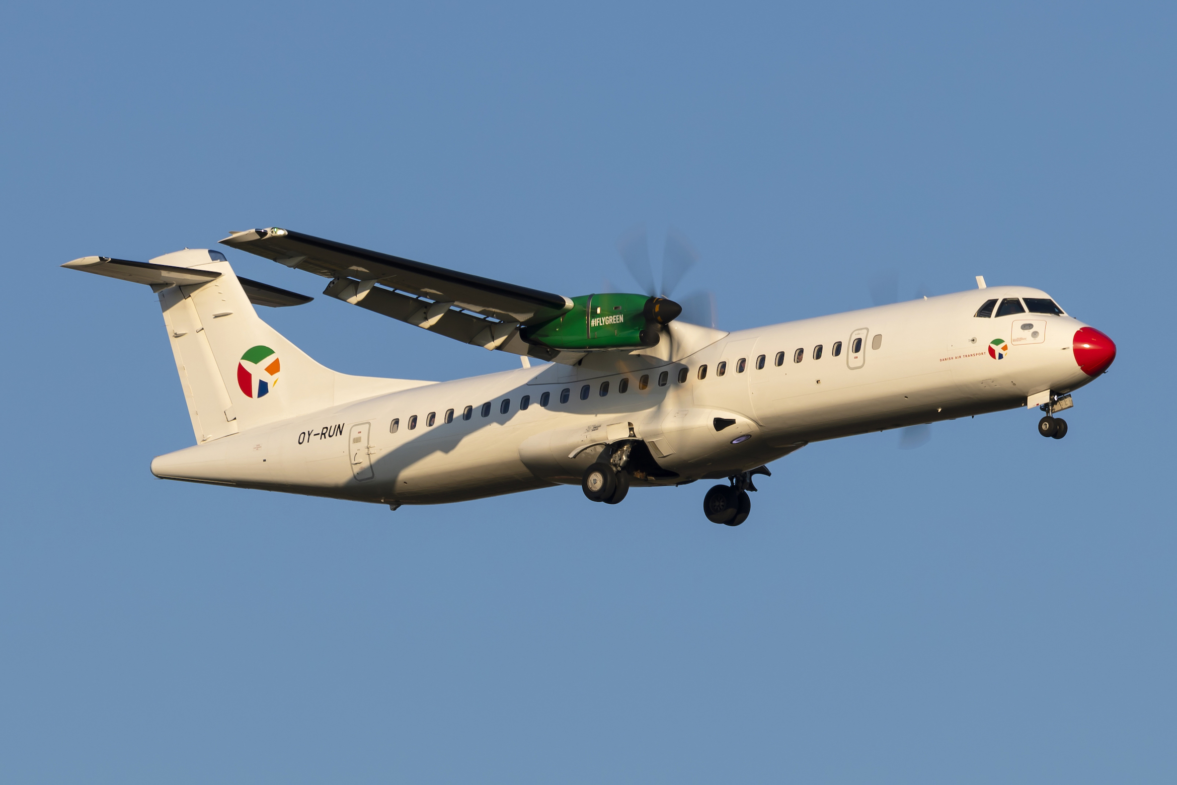 En ATR 72-600 fra Danish Air Transport (DAT): Foto: Danish Air Transport
