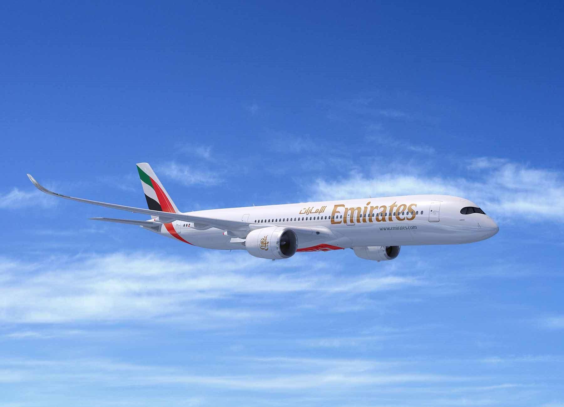 Emirates Airbus A350-900 XWB (Computerfoto: FIXION   dreamstime.com)