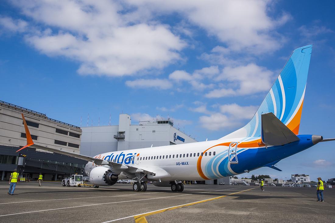 Flydubai er presset af, at selskabets 13 Boeing 737 MAX er henvist til jorden. Foto: flydubai