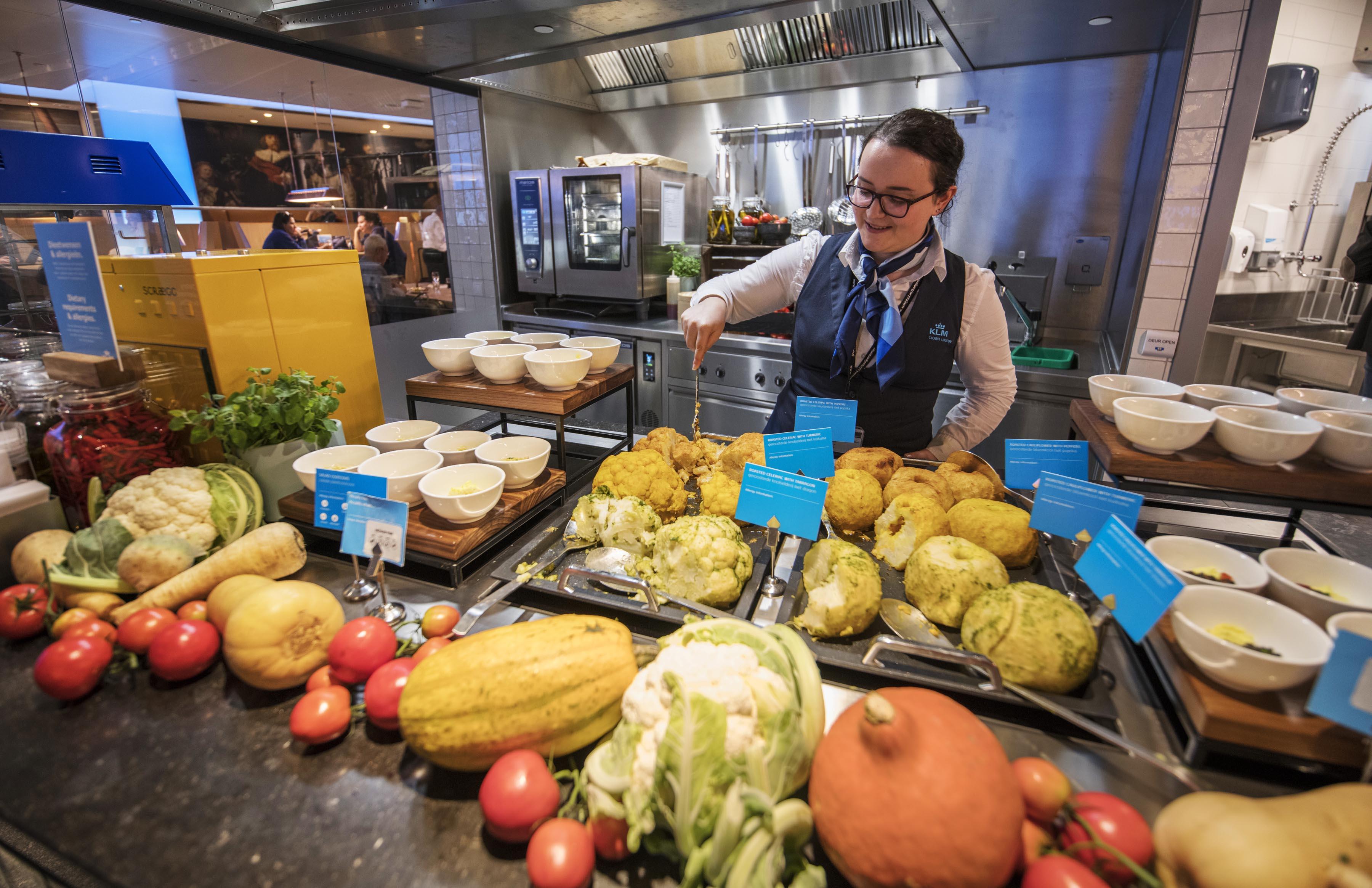 Overdådigt udvalg i buffeten. (Foto: Joakim J. Hvistendahl)