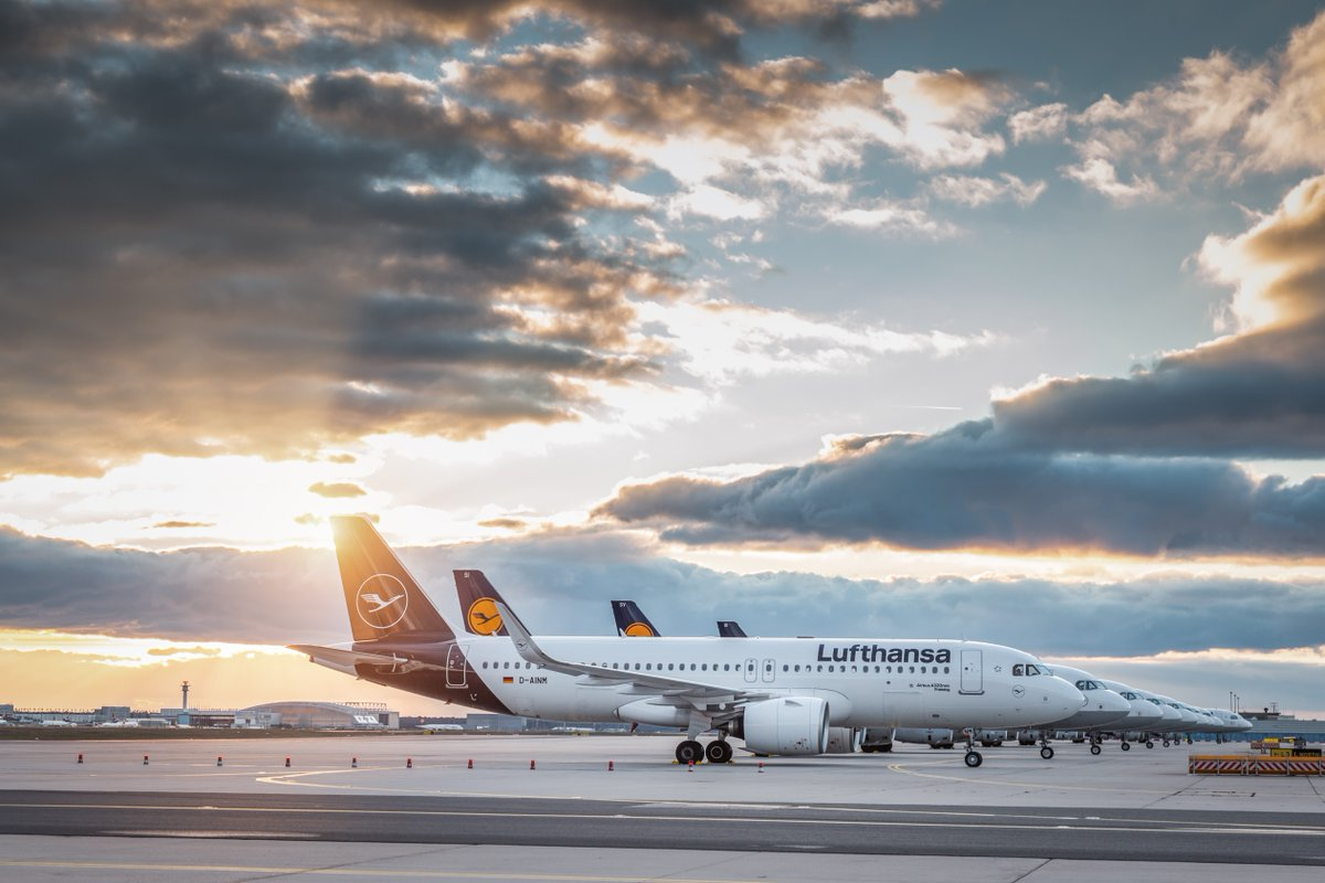 Lufthansa-fly. (Foto: Lufthansa News | Twitter)
