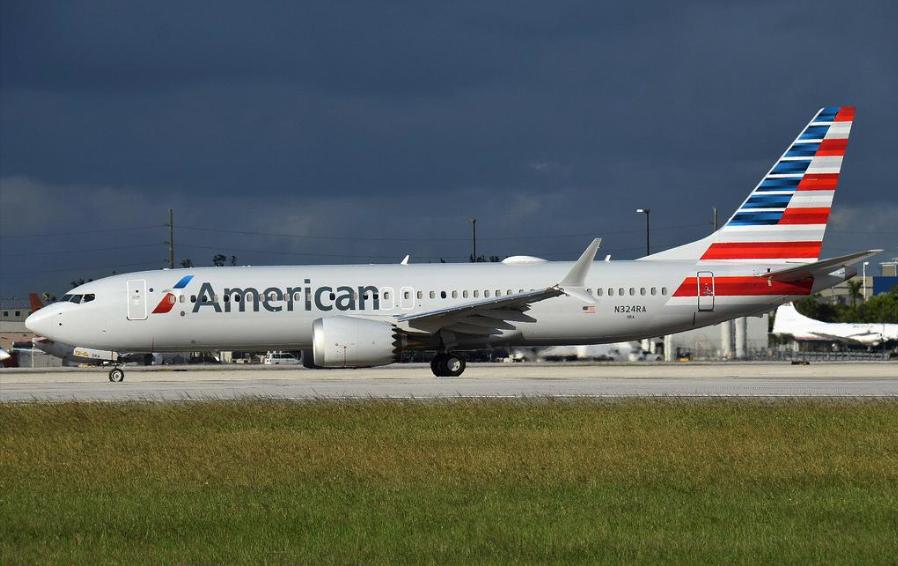 En Boeing 737 MAX 8 fra American Airlines. Foto: PJS2005, CC 2.0