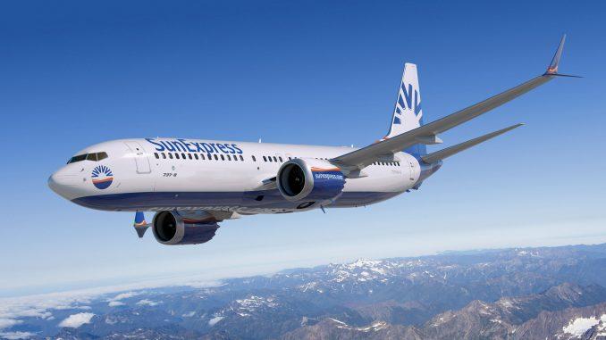 Charter- og ruteflyselskabet SunExpress har anvendt en option til fast ordre på 10 Boeing 737 MAX 8. Foto: Boeing