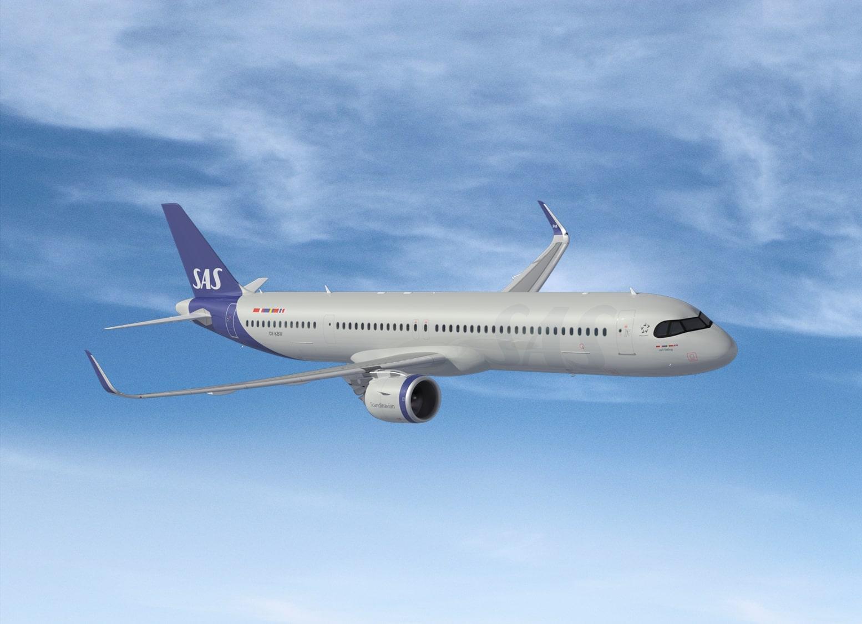SAS Airbus A321-200LR (Foto: SAS AB | PR)