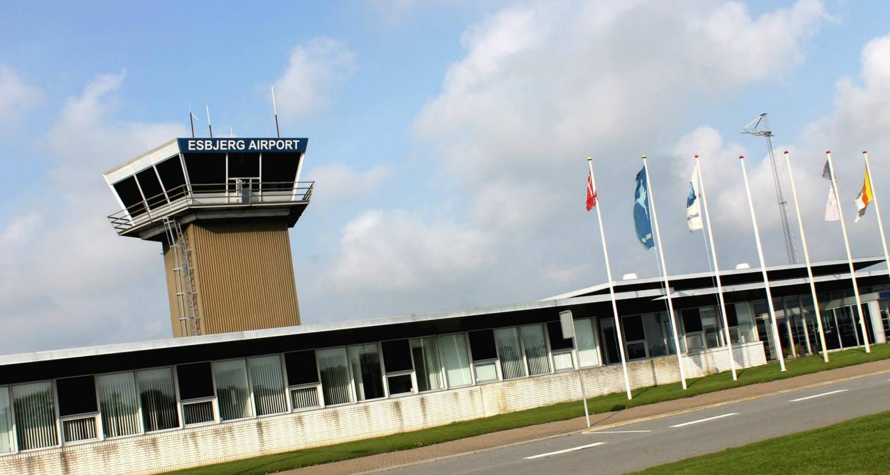 Esbjerg Lufthavn. (Foto: AC Servicing)