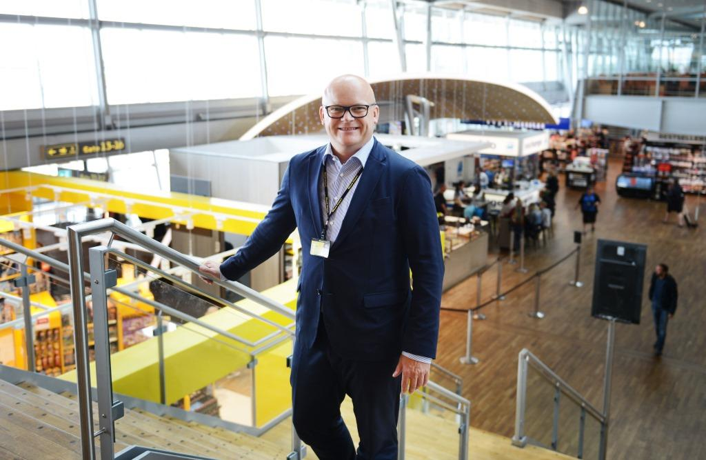 Jan Hessellund, administrerende direktør, Billund Lufthavn. (Foto: Joakim J. Hvistendahl)