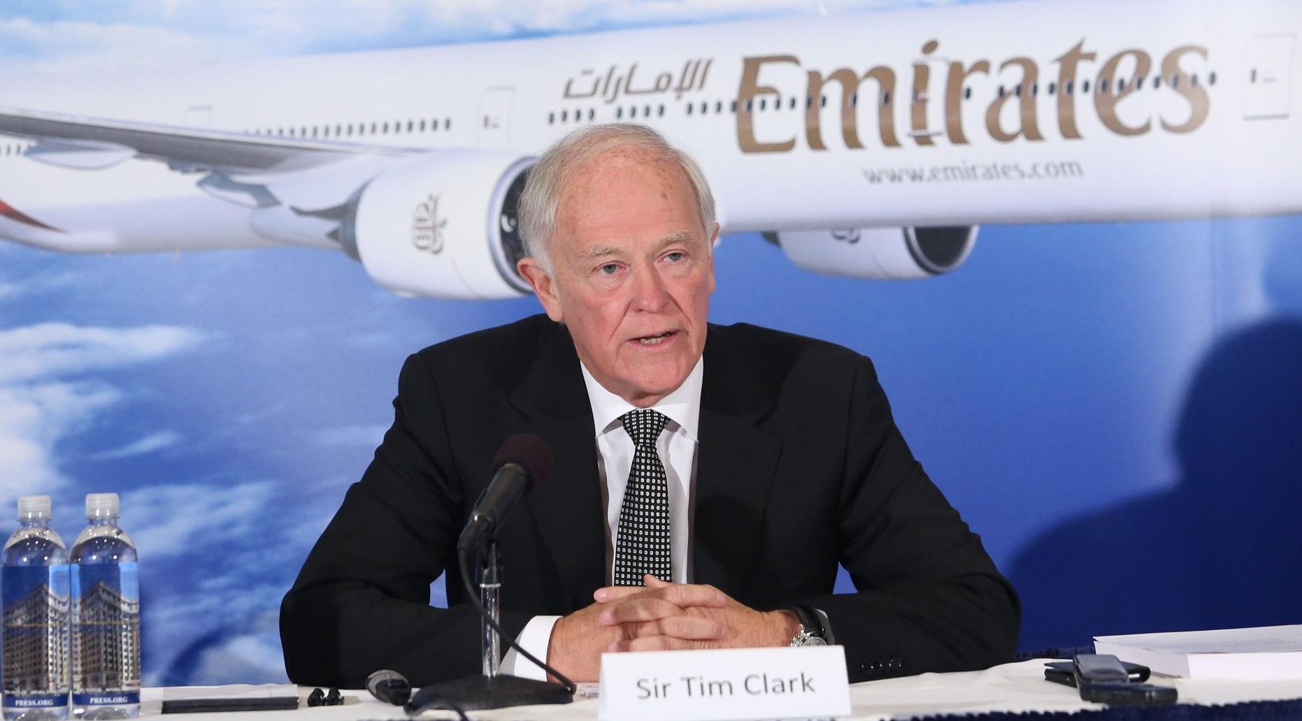Koncernchef Sir Tim Clark, Emirates Airline. (Foto: Emirates | PR)
