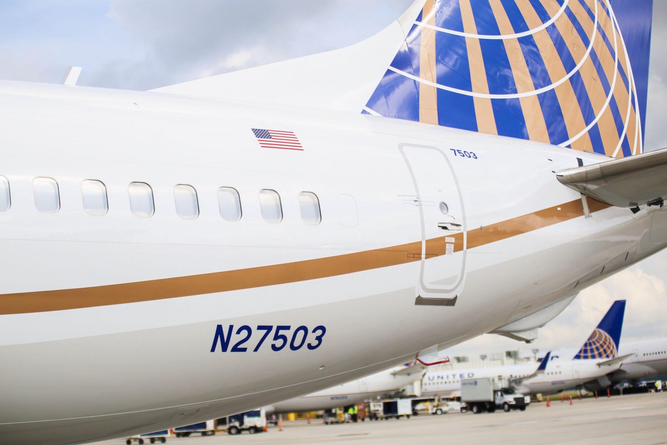 Boeing 737 MAX 9 fra United Airlines. (Foto: United   PR)