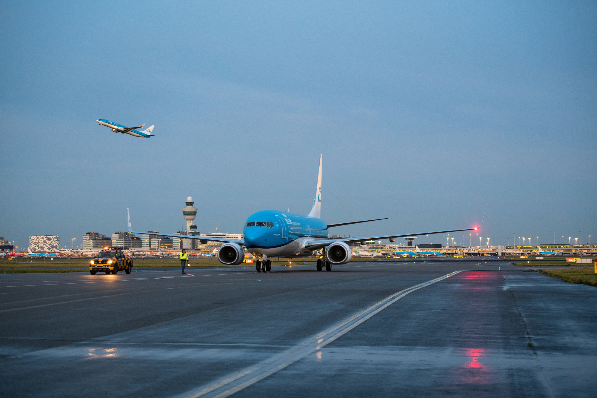 KLM har modtaget den sidste Boeing 737-800, som samtidig også er den sidste Boeing 737NG produceret hos Boeing. Foto: KLM