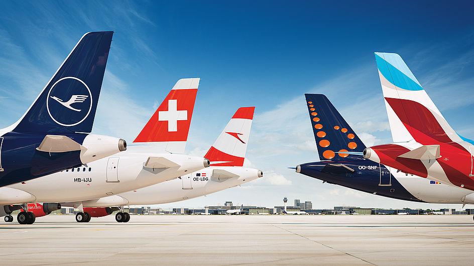 Selskaberne i Lufthansa-koncernen. (Foto: Lufthansa Group | PR)