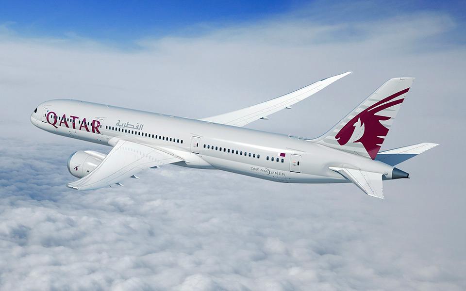 Boeing 787-9 fra Qatar Airways. (Foto: Boeing | PR)
