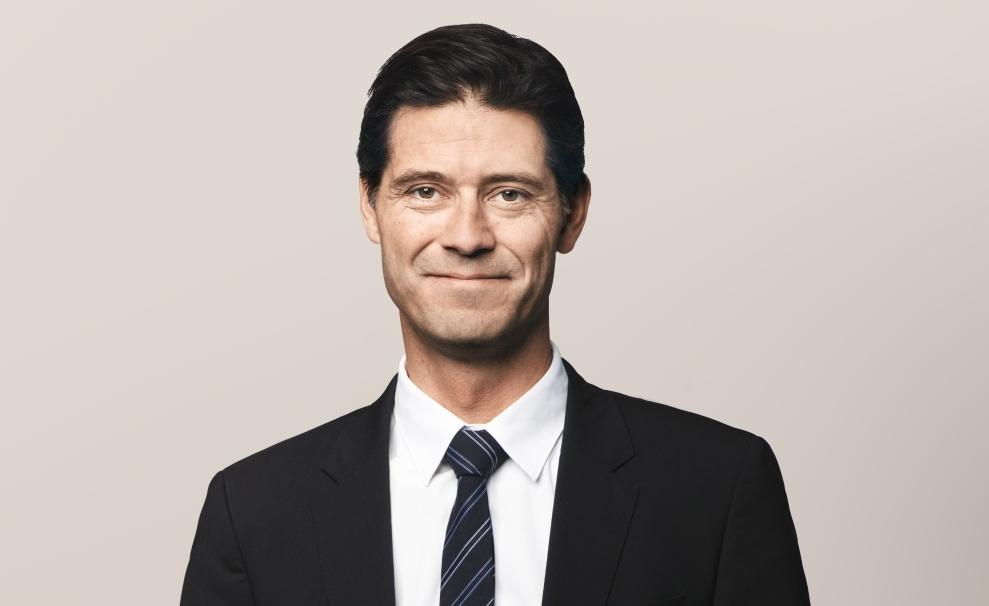 Simon Pauck Hansen, koncerndirektør i SAS. (Foto: SAS AB | PR)