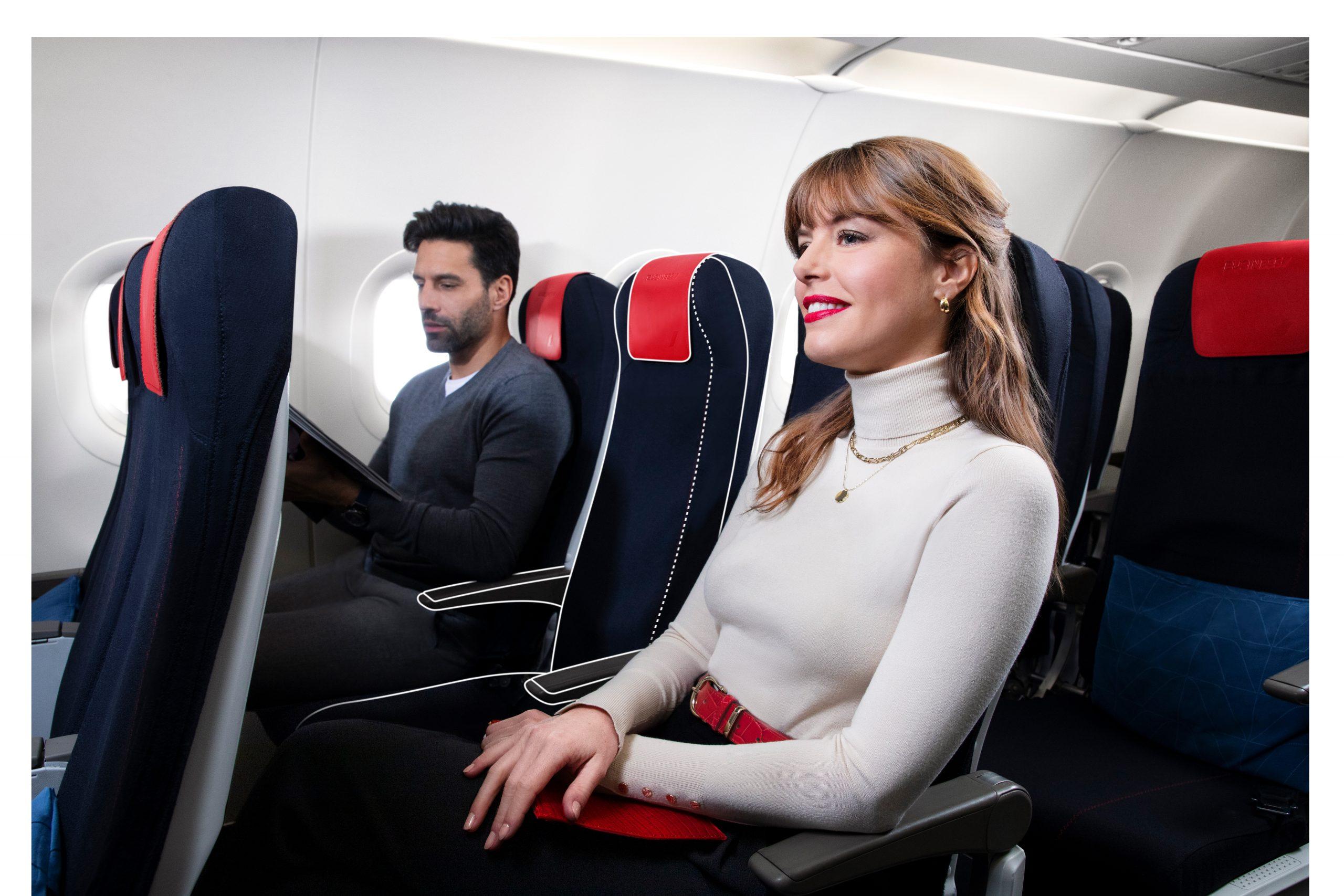 Air France har introduceret Business Class på selskabets indenrigsflyvninger. Foto: Air France