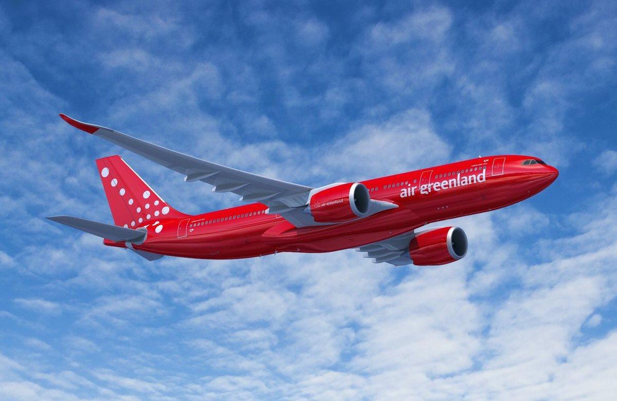 Airbus A330-800neo i Air Greenland-bemaling. (Foto: FIXION – dreamstime.com | Airbus)