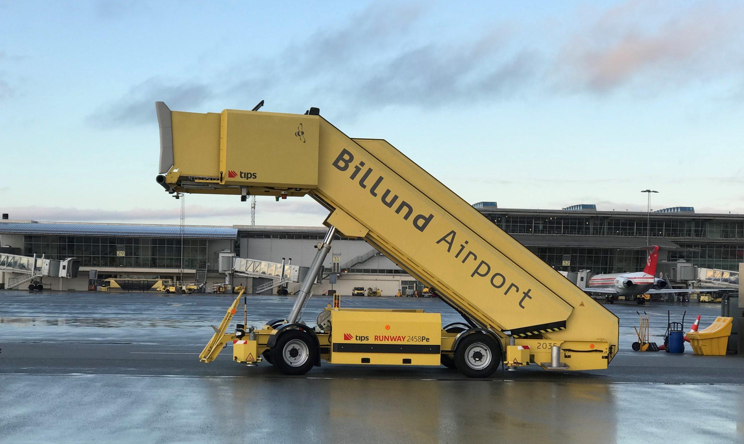 Billund Lufthavn. (Foto: Ole Kirchert Christensen)