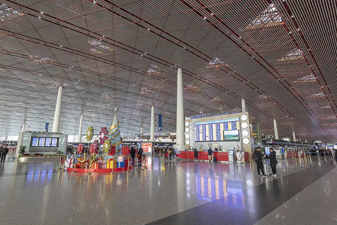 Terminal 3 i Beijing Capital International Airport. (Foto:  Arne Müseler | CC 3.0)