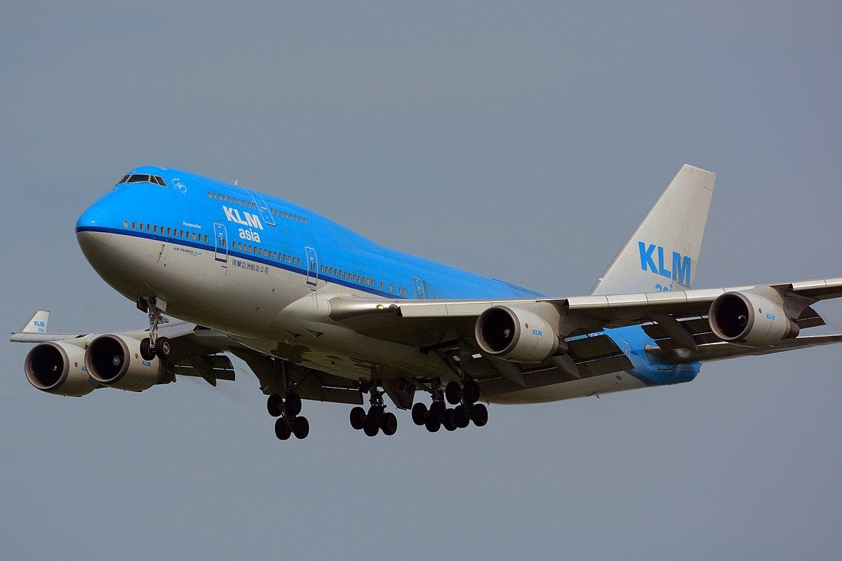 Boeing 747-400 fra KLM. (Foto: Masakatsu Ukon | CC 2.0)