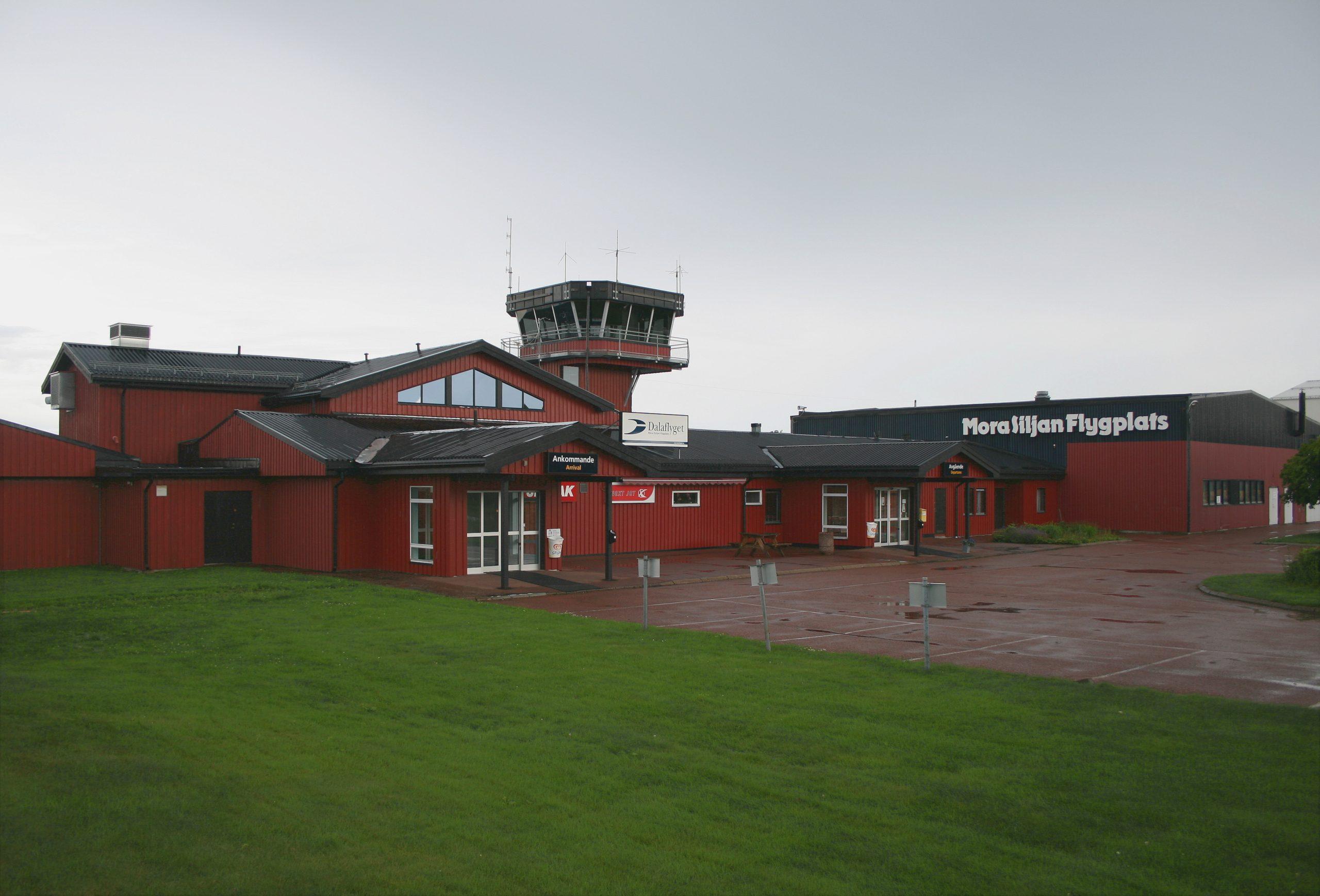 Mora Flygplats. Foto: Skistar, CC 3.0