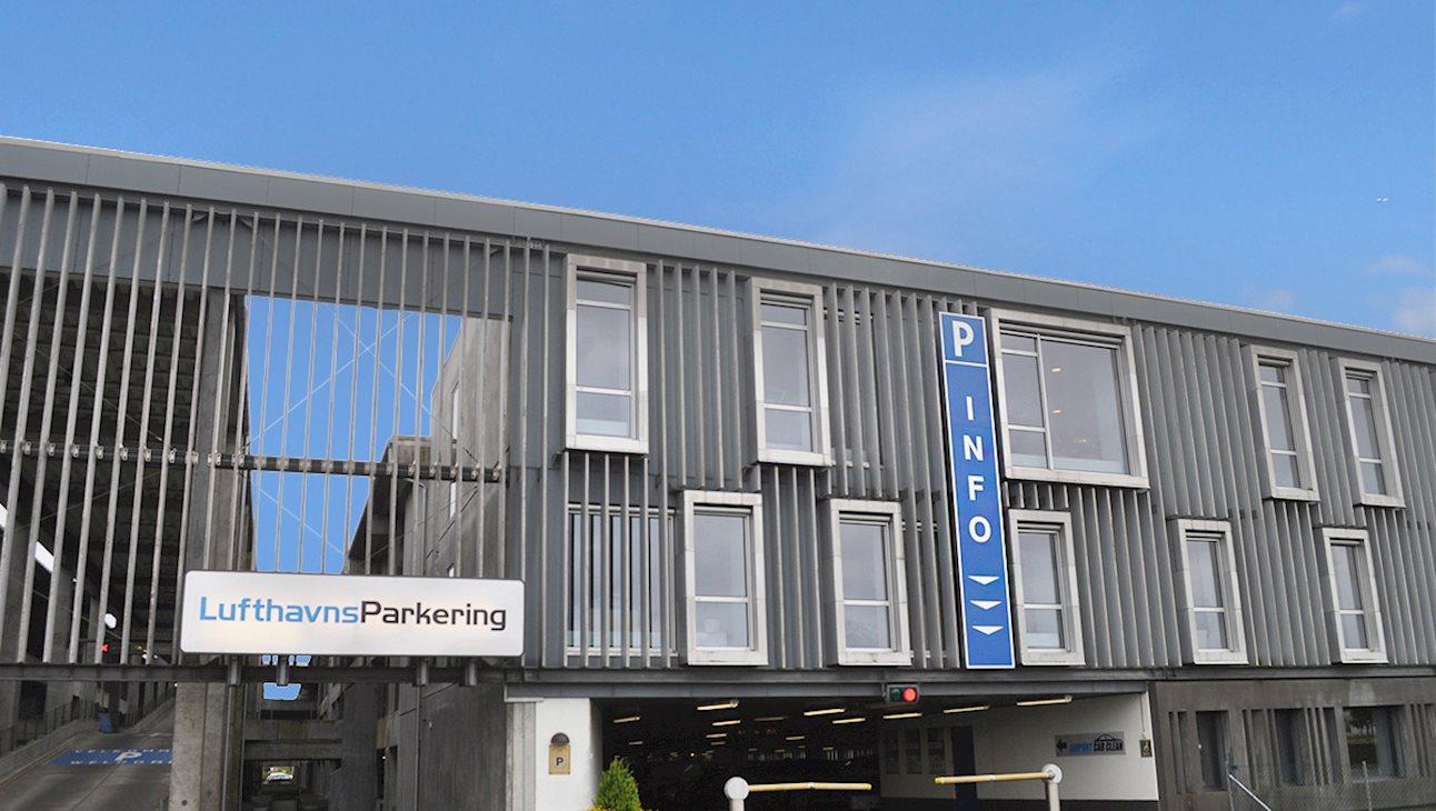 Parkeringshuset i Billund Lufthavn. (Foto: Billund Lufthavn)