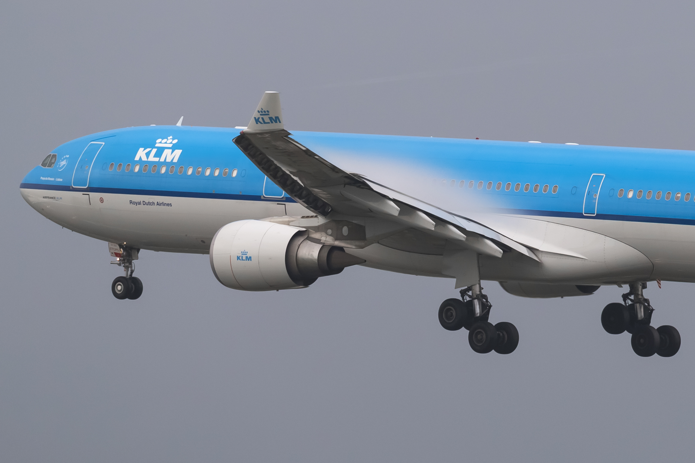 En Airbus A330-300 fra KLM. Foto: © Thorbjørn Brunander Sund, Danish Aviation Photo