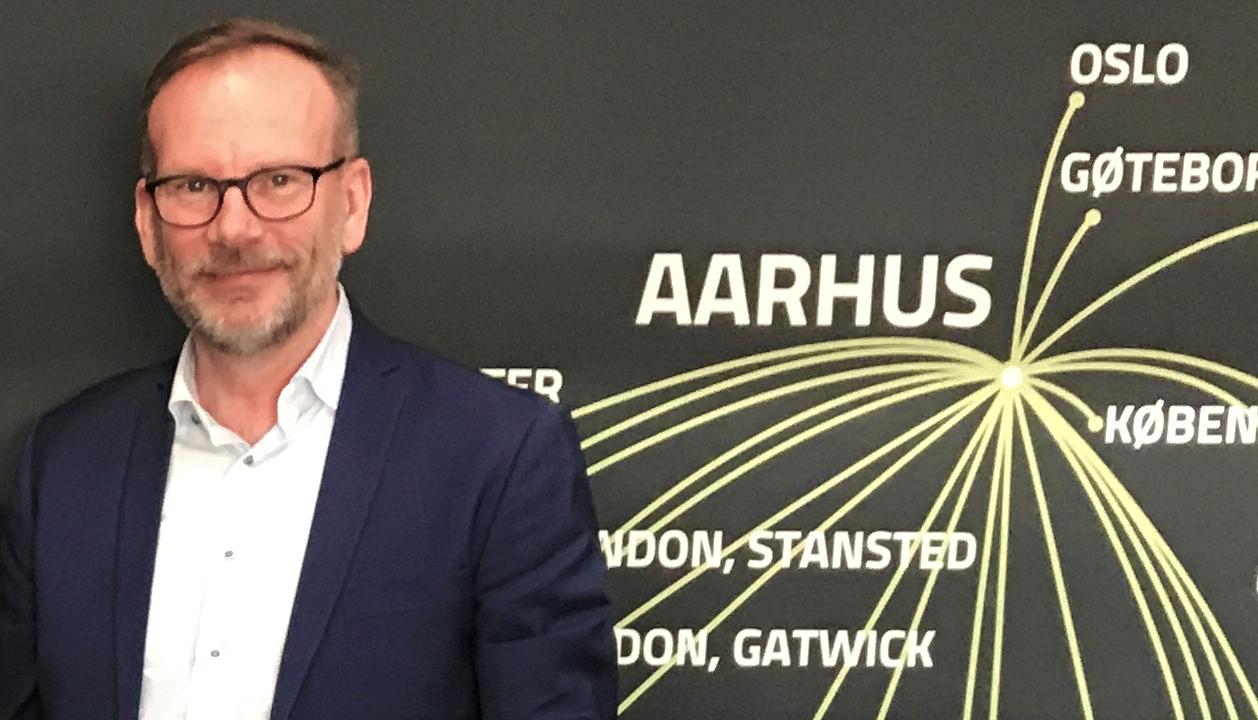 Adm. direktør Peer H. Kristensen, Aarhus Lufthavn. (Foto: Aarhus Airport)